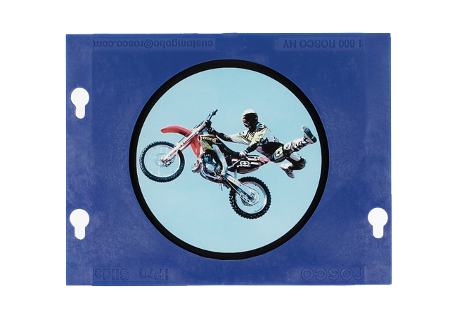 Rosco Gobo Feat iPro Slides