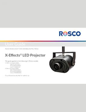 rosco x effects led projector user s guide rh emea rosco com optoma projector user guide led projector user guide